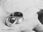 Wedding rings at Blackpool Wedding Chapel.
