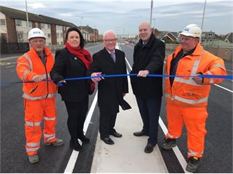 Squires Gate Bridge will reopen to drivers today at 7pm following a four month replacement programme.        As part of the £2.2m scheme, corroded concrete and steel beams supporting the bridge were replaced to prolong the life of the bridge for years to come. It is thought that the work will give...