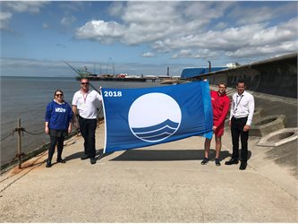 Blackpool is celebrating today after Keep Britain Tidy named Blackpool South as the only Blue Flag beach in the North West.        The award recognises coastal destinations that boast the highest quality of water, facilities, safety, environmental education and management.    This year...