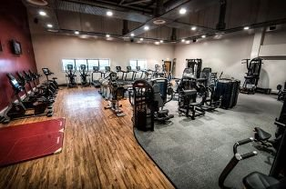 Picture of the gym at Palatine Leisure Centre