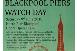 Blackpool's Big Pier Watch Day announced