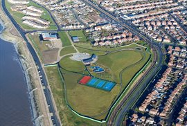 Anchorsholme Park to remain closed