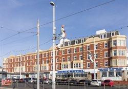 Hotels on Blackpools seafront