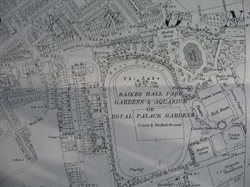 Appendix 3 Detail of 1893 Raikes Hall Park Area from Blackpool Library