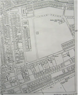 Appendix 4 1912 OS Map Showing Raikes Hall Development