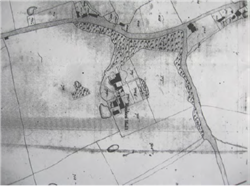 Appendix 4 Detail of Tithe map 1838 from Blackpool Library
