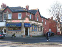 Fig. 18 Former bank at junction of Leamington Road and Whitegate Drive