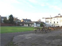 Fig. 27 Bowling green behind Raikes Hall Pub