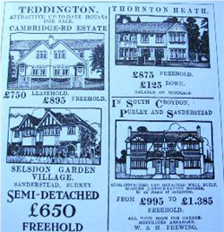 Fig. 3 Historic House Sale Leaflet