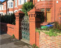 Fig. 30 Gatepiers at Front of a House