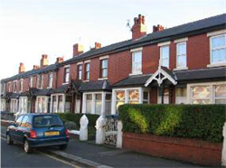 Fig. 36 Typical terrace Houses on Leeds Road