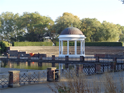 The Bandstand and auditorium