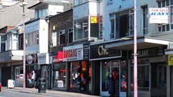 Fig. 41 Poor quality shop fronts on Talbot Road