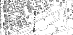 Fig. 6  Detail of 1877 street plan