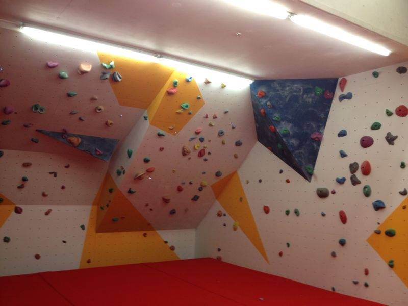 Picture of the Bouldering Room located at Blackpool Sports Centre