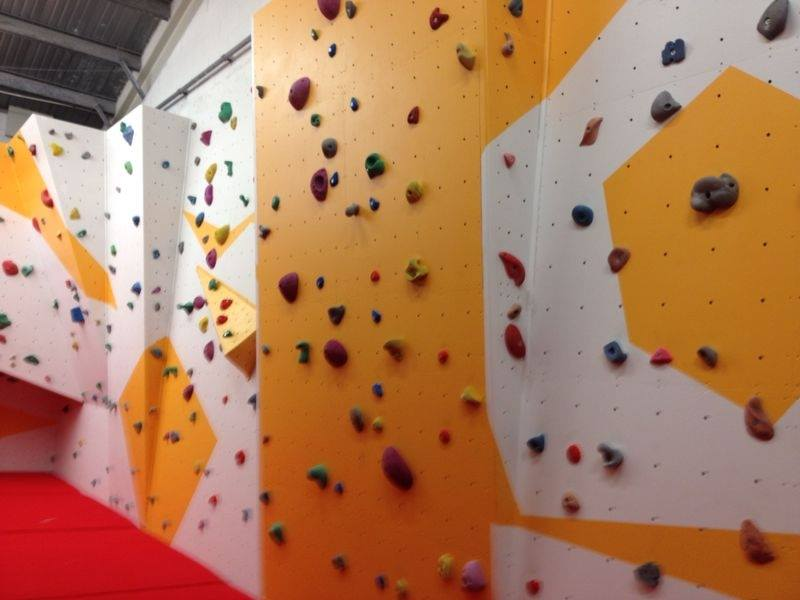 Bouldering Wall at Blackpool Sports Centre