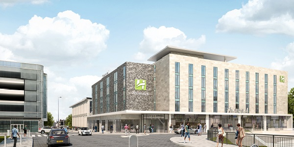 Artists impression of new Talbot Road hotel