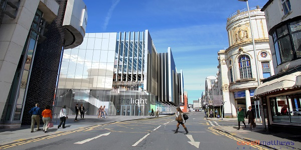 Artist impression of new IMAX cinema and Houndshill extension