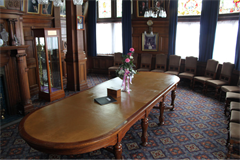 Blackpool Town Hall Mayor's parlour