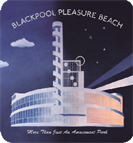 Fig 6 - Front Cover of Pleasure Beach Book.