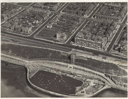 North Promenade from the air from aproximately 1930