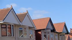 Various gables on roofs