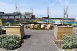 Dementia garden at Blackpool Solaris