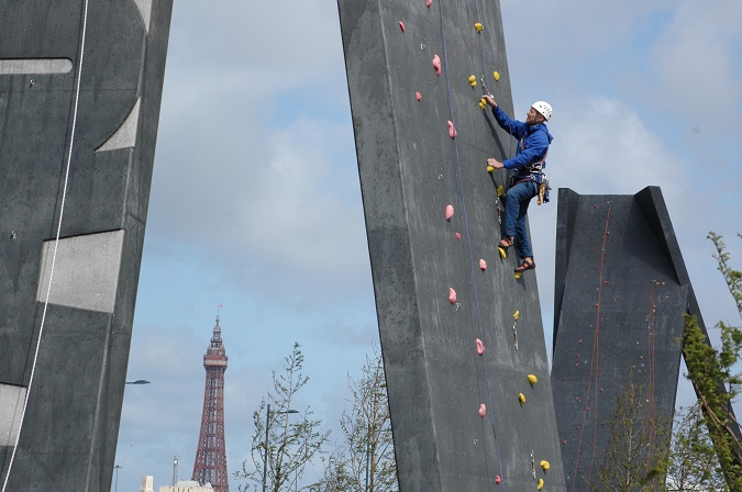 Blackpool-Climbing-Towers