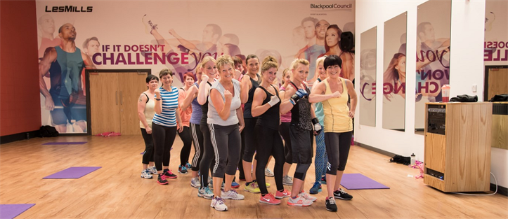 exercise class studio at Moor Park